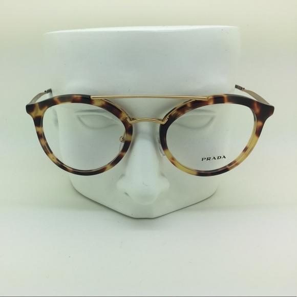 eb6590fdf917 New Prada VPR 15T 7S0-1O1 52mm Eyeglasses